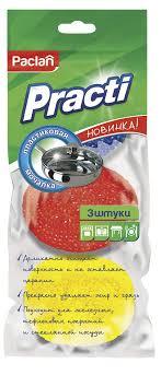 """<b>Мочалка для посуды</b> пластиковая """"Paclan"""", 3 шт — купить в ..."""
