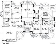 single plan lg   P L A N S   Pinterest   House plans  Floors and        Floorplan The Windsor Trace House Plan
