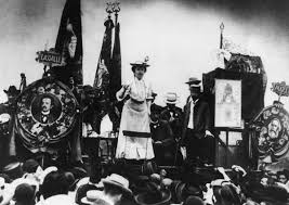 essays the last marxist rosa luxemburg addresses a stuttgart crowd in 1907 here she is flanked by portraits of
