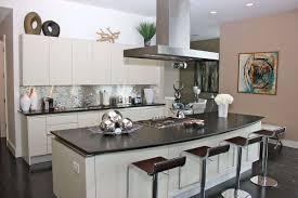 cabinets kitchen stainless steel kitchenfantastic modern stainless steel backsplash decor with l shape