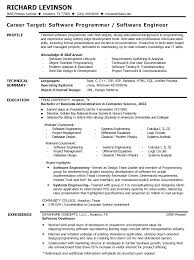 profile on a resume example  seangarrette codeveloper resume examples for profile with technical summary and education   profile on a resume example