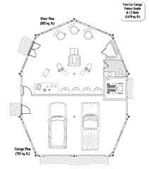 Multi Purpose Garage  Workshop  Office  Studio  Floor Plans    MULTI PURPOSE House Plan MP    Sq  Ft   Bedrooms