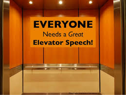 Image result for elevator Speech