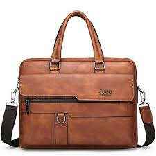 <b>JEEP BULUO</b> Men Briefcase Bag High Quality Business <b>Famous</b> ...