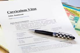 Curriculum Vitae Writing Guidelines Job