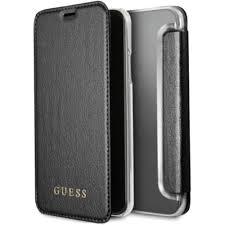 Купить <b>чехол</b> guess iridescent <b>book case</b> для iphone x/xs чёрный в ...