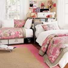 Pottery Barn Girls Bedroom Great Girly Bedroom Corner Option For Sharing A Room Pottery