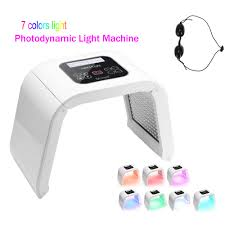 <b>7</b> Color Skin Care <b>LED</b> Photon <b>Light Therapy</b> PDT Beauty Machine ...