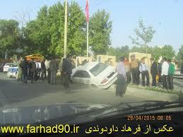 نتیجه تصویری برای تصادف بروجرد