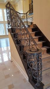 Custom Stair Railing Custom Hand And Stair Rails Sunset Metal Fab Inc