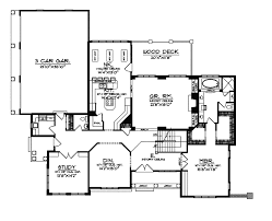 Lily Lake Luxury Home Plan S    House Plans and MoreModern House Plan First Floor   S    House Plans and More