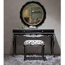 wood vanity bedroom make up bench piece bedroom vanity furniture black and silver furniture