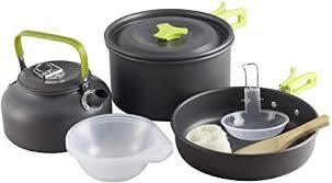 RegeMoudal Camping Cooker Set Camping Pot ... - Amazon.com