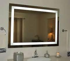 lighted bathroom vanity wall mirror basic bathroom strip
