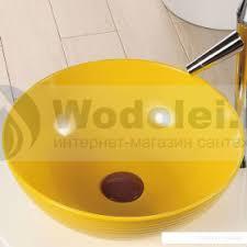 <b>Раковина Melana</b> MLN-<b>T4004</b>-<b>B6</b> (желтая), цена 9513 руб. Купить ...