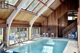 Plain Indoor Pool House For Sale Ebycrest Road Woolwich Ontario With Perfect Design