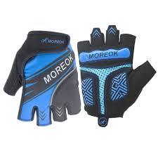 MOREOK MK098 Shockproof Foam Padded Cycling <b>Gloves</b> Half ...