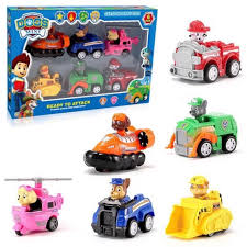 <b>Paw patrol</b> pull back <b>dogs</b> patrol set of <b>6pcs</b> | Shopee Philippines