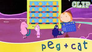 Peg + <b>Cat</b> - <b>Triangle</b>, Pentagon, Triangle, Square! - YouTube