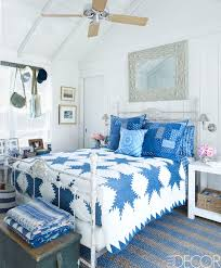 bedroom walls green blue estate