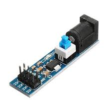 <b>5pcs ams1117 5v power</b> supply module with dc socket and switch ...