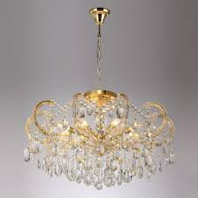 Подвесная <b>люстра Crystal Lux Hollywood</b> SP-PL8 Gold D800 ...
