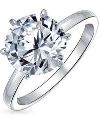 New Deal Alert! 2.75 CTW Solitaire <b>CZ</b> Engagement <b>Wedding</b> Ring ...