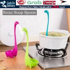 <b>Creative Swan</b> Soup Spoon Long Handle Porridge Monster Spoon ...