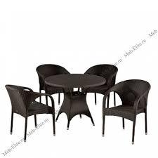 <b>Комплект мебели 4</b>+1 T190AD/Y290B-W52 Brown 4Pcs иск. ротанг
