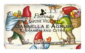 Купить <b>натуральное мыло merry christmas</b> cannella e agrumi 100г ...