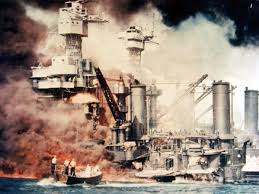 attack on pearl harbor atomic heritage foundation battleship uss west virginia under attack