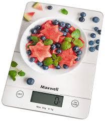 <b>Весы кухонные Maxwell MW-1478 MC</b>, купить в Москве, цены в ...