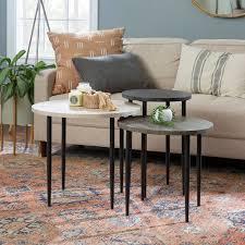 Schmid <b>3 Piece Nesting Table</b>   Joss & Main