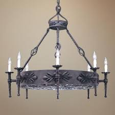 decoration chandelier wrought iron lighting fixtures