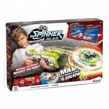 Игрушка <b>Spinner mad Одиночный Бластер</b> зеленый 86302 ...