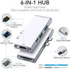 USB Hub,4-Port <b>USB 3.0</b> Hub,<b>Ultra Slim High</b>-<b>Speed</b> USB Splitter ...
