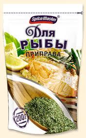 <b>Приправа Spice Master для</b> рыбы 150г, шт