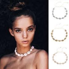Charm Bohemia Jewelry Hand knitted <b>Beaded Shells</b> Bracelet ...