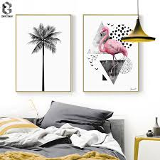<b>Nordic</b> Canvas Prints and Posters Wall Art Flamingo Wall Pictures ...