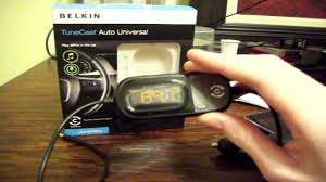Belkin Tunecast Auto Universal Belkin Tunecast Auto Universal Review Youtube