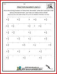 Place Improper Fractions On A Number Line Worksheet - Fraction ...Fraction worksheets. Mixed numbers on a number line ...