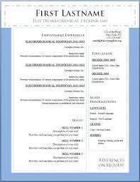 cv templates download doc  free resume template microsoft word     How to write a CV