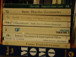 the of blog  here are the foreign language books seven french two german that i picked up for almost a song i think it was something like 5 for all seven of these