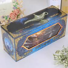 Vintage <b>Metal</b> Aladdins <b>Magic Lamp</b> Figurines Tin Alloy Retro Tea ...