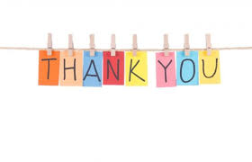 Image result for cartoon says thank you