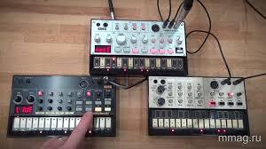 mmag.ru: <b>Синтезаторы Korg Volca Bass</b>, Beats и Keys - видео ...