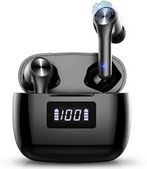 True Wireless Earbuds Bluetooth 5.0 Headphones in ... - Amazon.com