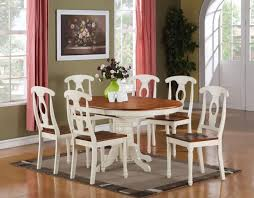 oval dining room table sets is also a kind of white and brown themed dining table beautiful murphy bed desk