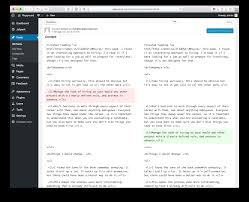 plugin concept request post feedback revisions jack reichert what that means is that you can leverage the revisions browser comparison tool already built into wordpress and see what they suggested