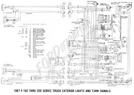 ford f350 wire diagram ford truck technical drawings and schematics section h wiring 1967 f 100 thru f 350 exterior